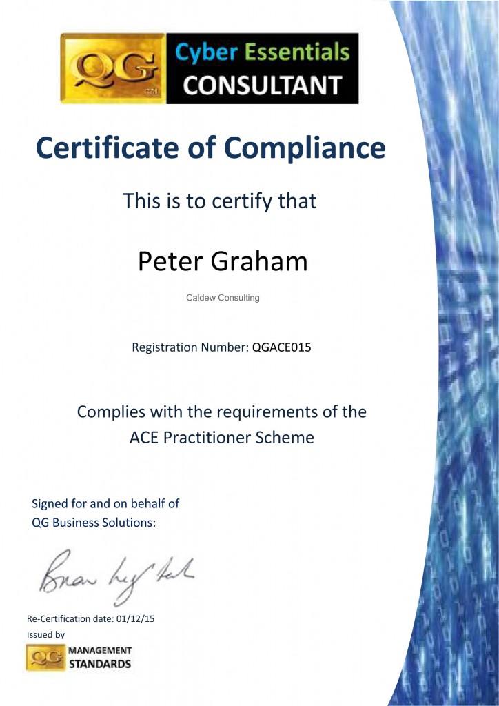 QGACE015 Consultants Cert 14 15