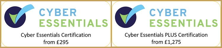 Cyber Essentials Certification banner