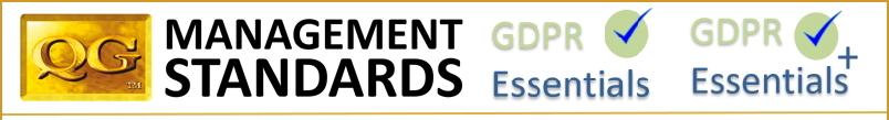 QG Standards GDPR Essentials landscape white cropped