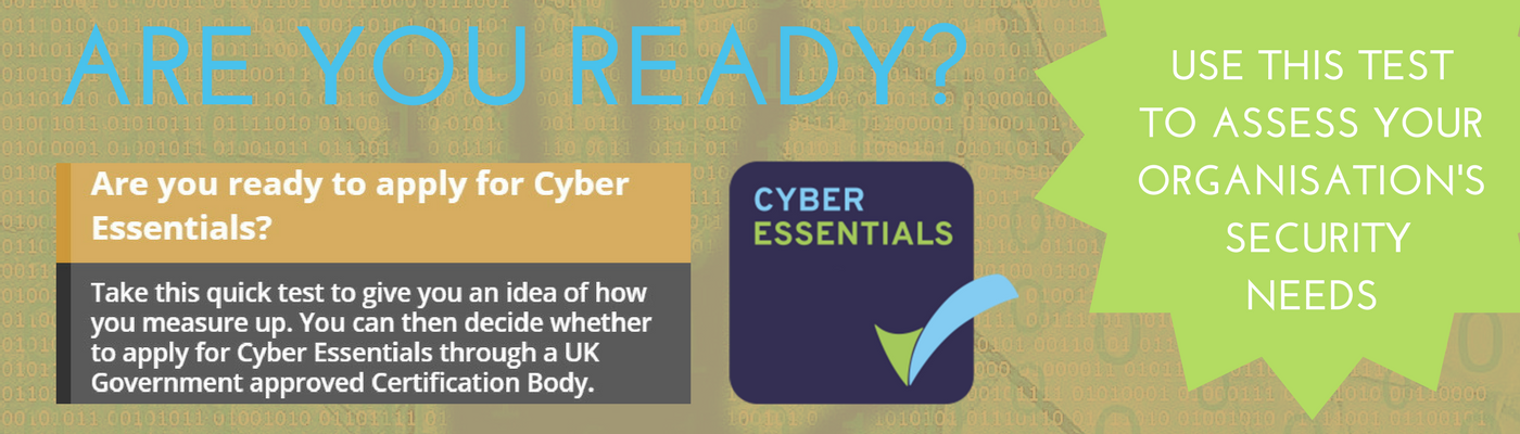 QG Standards Cyber Essential ready to take quiz Slider GREEN FLASH